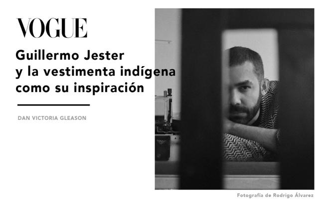 Guillermo Jester para la revista Vogue México